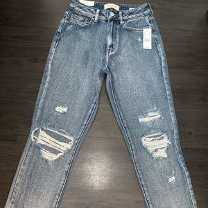Pacsun Mom Blue Jeans Size 23 NWT